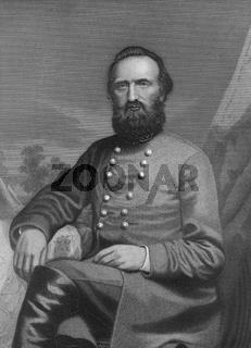 Thomas Jonathan Jackson, 1824 - 1863, general during the American Civil War