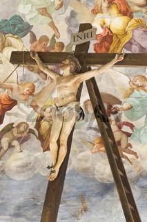 Jesus ans Kreuz geschlagen, Sacro Monte di Varese