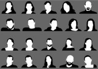 Avatar Profilbild Symbolsatz