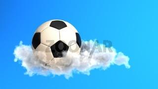 Football White Cloud