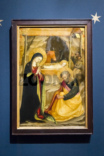 Geburt Christi,  Bicci di Lorenzo