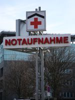 Notaufnahme im Krankenhaus
