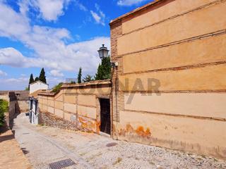 Albayzin in Granada, Spain