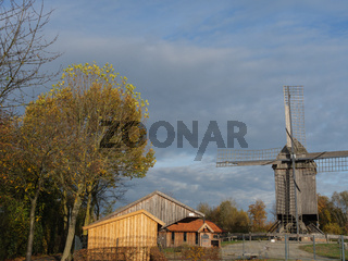 Windmühle im Münsterland