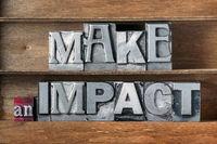 make an impact tray