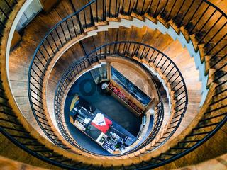 Interior View of L'Intendant Wine Shop in Bordeaux
