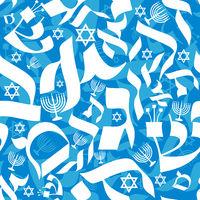 Hebrew Seamless Pattern