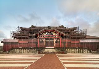 Shuri Castle's in the Shuri neighborhood of Naha, the capital of Okinawa Prefecture,
