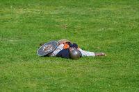Defeated Dacian Warrior