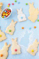 Kekse in Haeschen Form zu OStern