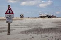 Achtung, Strandsegeln