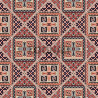 Palestinian embroidery pattern 307