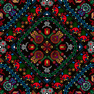 Hungarian embroidery pattern 38
