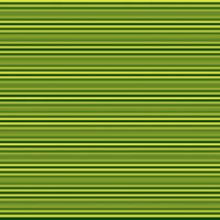 Horizontal stripes in dark green and yellow
