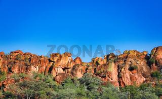 Landschaft am Waterberg Plateau, Namibia | Landscape at Waterberg Plateau, Namibia