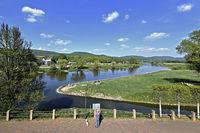 Weser bei Rinteln, Niedersachsen