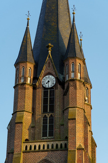das kleine dorf Weseke im Münsterland