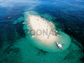 Naked Island, Siargao, The Philippines - Aerial Photograph (1)