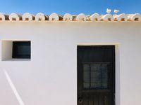 Traditionelle, portugiesische Architektur