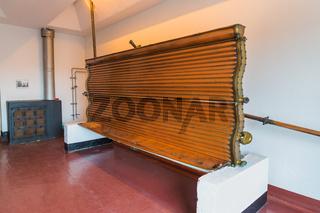 Vintage copper equipment - brewery in Belgium