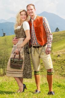 Bayerisches Liebespärchen