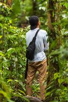 Suche nach Orang-Utans im Dschungel von Ketambe auf Sumatra
