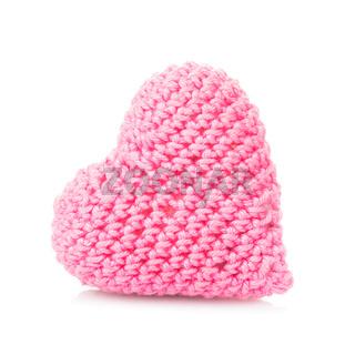 Crochet lovely heart