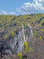 Schloss Bronnen im Donautal bei Fridingen, Landkreis Tuttlingen