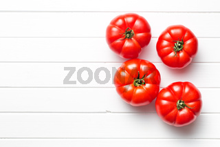 red tomatoes