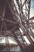 Eiffel Tower structure, Paris, France