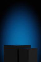 display blue light background