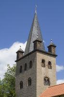 Sankt-Stephanus-Kirche in Gernerode