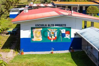 Panama Alto Boquete elementary school and kindergarten