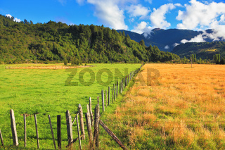 Countryside in Chilean Patagonia