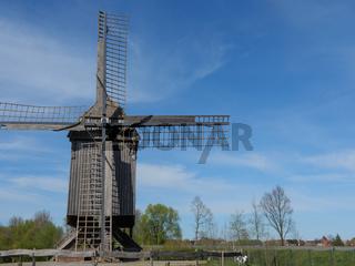Bockwindmühle in Westfalen