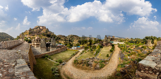 Kumbhalgarh is a Mewar fortress on the westerly range of Aravalli Hills, in the Rajsamand district near Udaipur of Rajasthan state in western India.