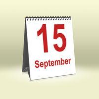 September 15th | 15.September