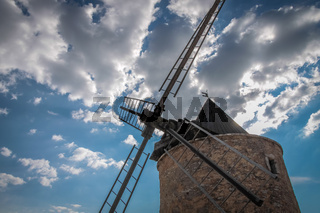 Old windmill in Saint-Saturnin-les-Apt