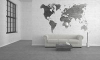 modern living room with sofa - Illustration