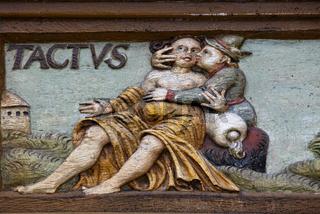 sense of touch, Alfeld, Old Latin School, Germany