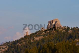 Cinque Torri in den Dolomiten