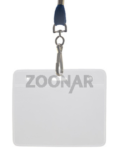 Lanyard And Plastic ID Holder