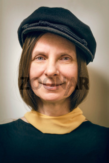 Portrait of a Woman with  a Cap