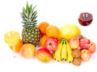 Früchte und Saft