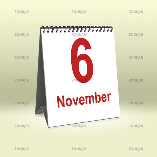 November 6th | 6.November