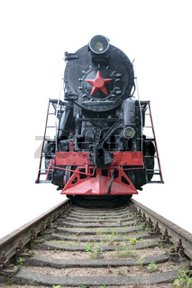 Vintage steam train