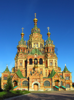 Church of Holy Apostles Peter and Paul in Peterhof