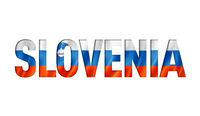 slovenian flag text font