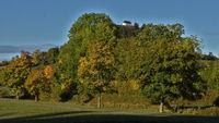 Herbstlandschaft beim Kornbühl, Schwäbische Alb