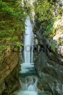 Tatzelwurm Waterfalls in Bavaria Germany